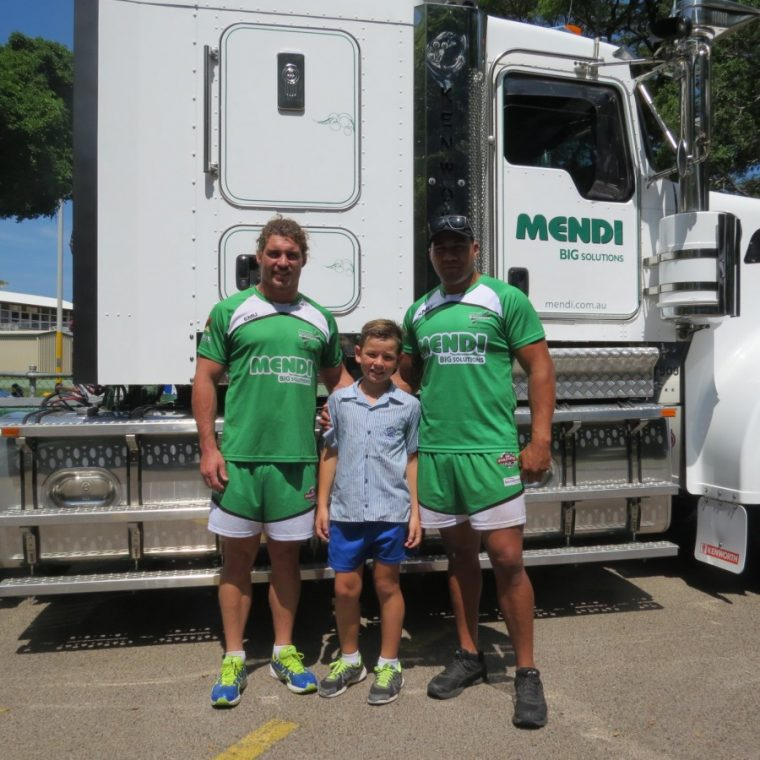 Mendi visits local Primary School with Townsville & Districts Mendi Blackhawks