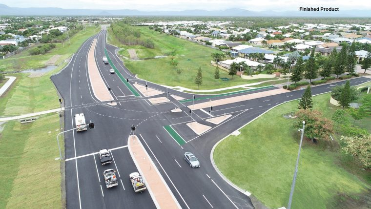 The Mendi Group – Delivering Dalrymple Road, Greenview Drive Intersection Upgrade