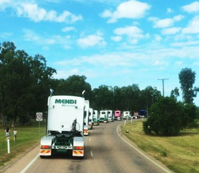 Convoy for The Cure