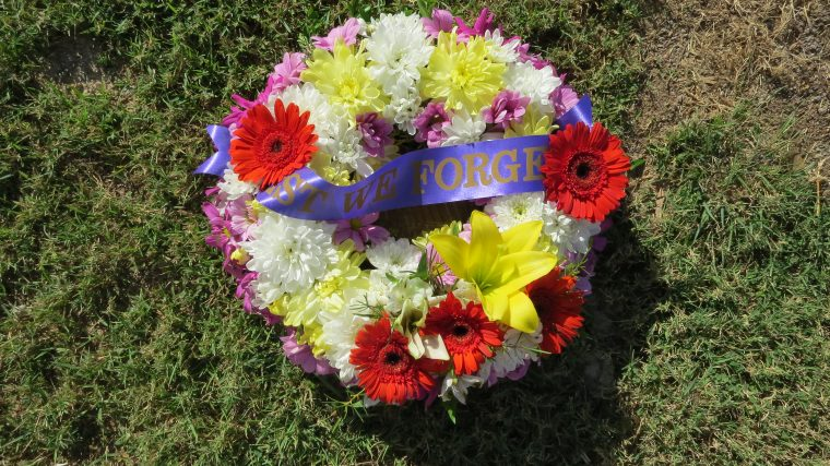 100th ANZAC Anniversary Ceremony Tribute with Father Dave Lancini