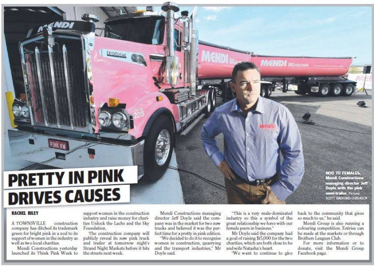Pretty in pink drives causes